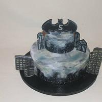 Batman Cake for my nephew! :)