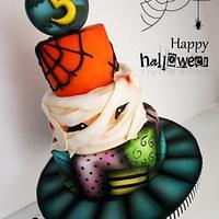 Halloween Cake fun