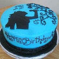 Singer Cake by Patty Mattison-Stewart