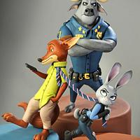 Zootopia - Cake Con Collaboration