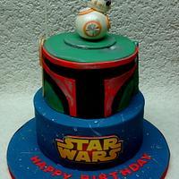 Star Wars - BB8 & Boba Fett