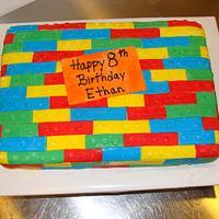 Ethan's Lego Cake