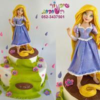 rapunzel cake - happy new year :-)