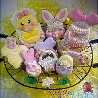 A Basket Full Of Easter