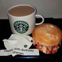 Starbucks breakfast