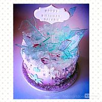 """A different """"Frozen""""cake"""