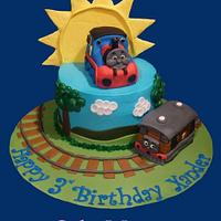 Thomas and toby by cakemomma1979