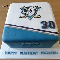 MIGHTY DUCKS CAKE