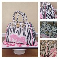 Pauls Boutique Handbag Cake