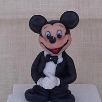 Mickey Mouse husband by Gabriella Luongo