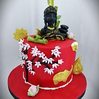 Thailand theme Cake