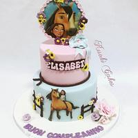 Spirit cartoon cake