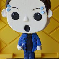 Dean Winchester supernatural Bobblehead cake
