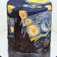 Van Gogh's Starry Night (the extended remix)