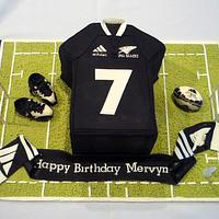 a cake for all the all blacks fans