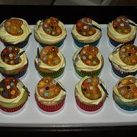 Palette Cupcakes