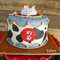 3 Little Pigs Birthday