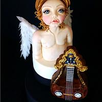 Lyre-Guitar: The sweet sound of Angels