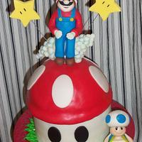 """Mario cake"""