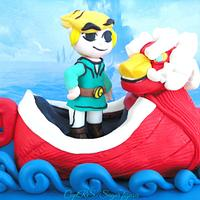 The Legend of Zelda: The Wind Waker Cake