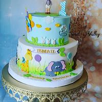 First year /Animals Cake &Cookies