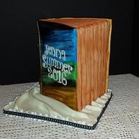 Book cake, 3D standing