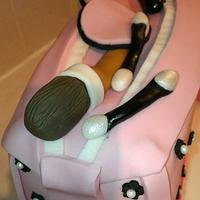 Makeup bag by Kerry