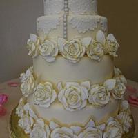 Rebecca's wedding by Melanie
