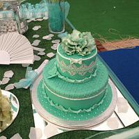 tiffany cake by Rosalba