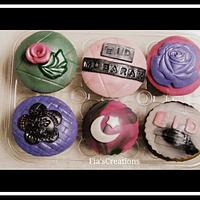 Eid al-Adha Rainbow Kupcakes