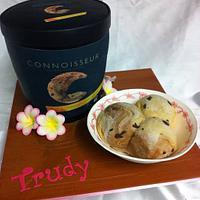 Chocolate Cake Tub of Ice Cream