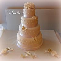 Alex n Paul's wedding cake