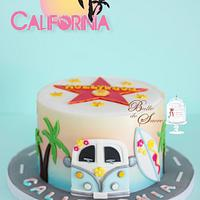 California Birthday Cake