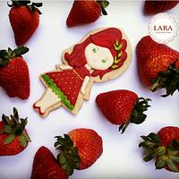 Ms. Strawberry Cookie