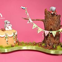 Featured in Cake Central Magazine, Beatrix Potter