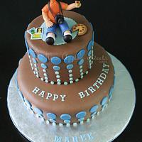 Marek's Birthday Cake
