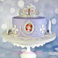 Princess Sofia cake.