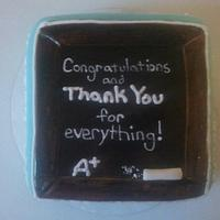 Math Teacher cake