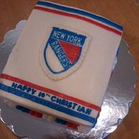 NY Rangers 2012 Winter Classic Jersey  by Elena Z