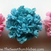 Carnation Cupcakes by TheSweetBumblebee