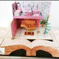 Fantasy World :  Cakerbuddies Miniature  Doll House Collaboration by Cakemantra By Mona