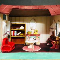 Fantasy World - Cakerbuddies Miniature Doll House Cake Collaboration- Home Sweet Home