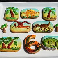 Dinosaurs cookies