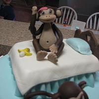 Monkey cake by Jazmin