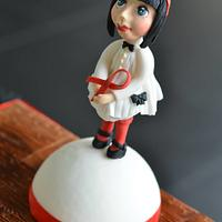 "''Red Ribbon Doll"" - UNSA collaboration"