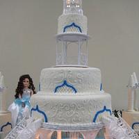Cinderlla castle sweet 15 by Evelyn Vargas