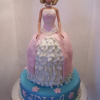 """Barbie cake"""