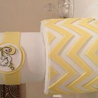 Baby Shower chevron stripes