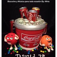 Coca Cola Ice Bucket, Cake