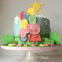 A Peppa Pig Birthday